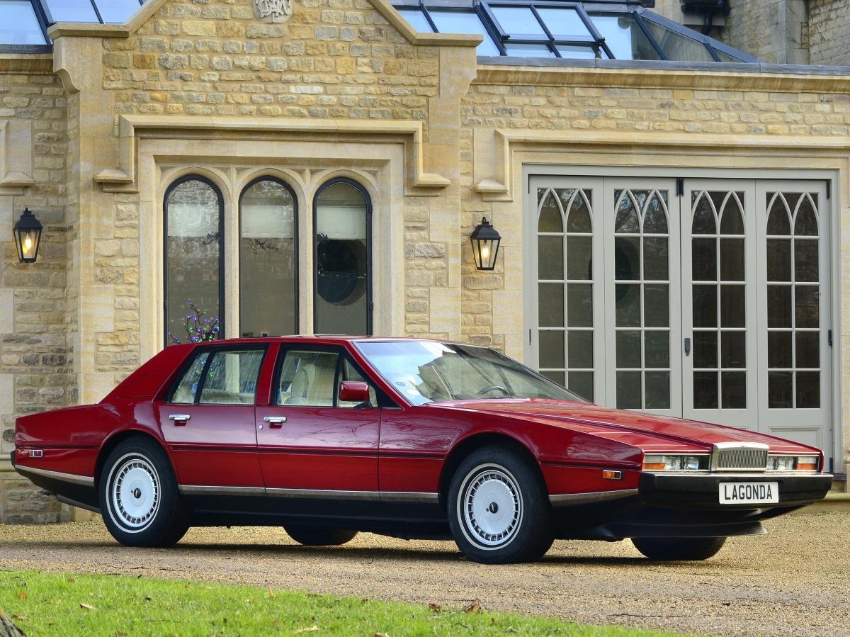 70's Luxury Icons - Aston Martin Lagonda, Maserati Quattroporte III and Monteverdi 375/4