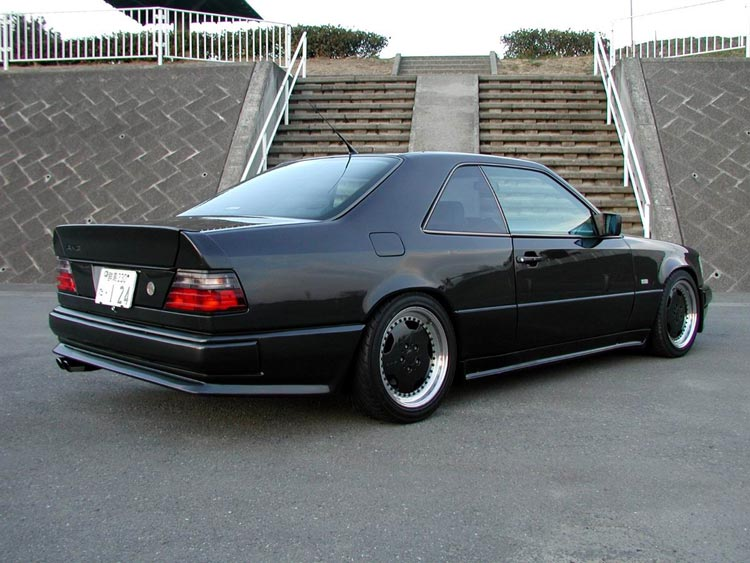 Mercedes benz 300 ce amg wide body automotive views for Mercedes benz 1990 e300