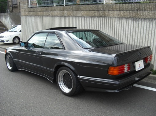 Mercedes Benz 560 SEC AMG (rear angle)