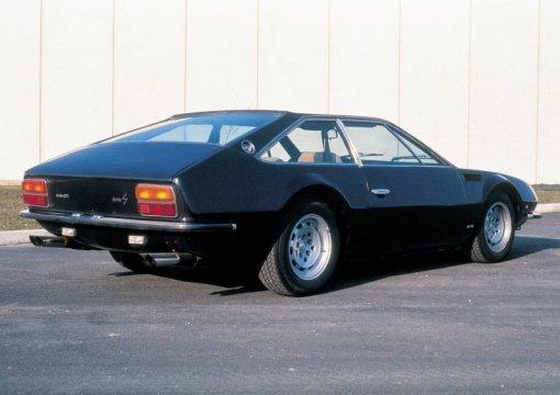 Lamborghini Jarama rear angle
