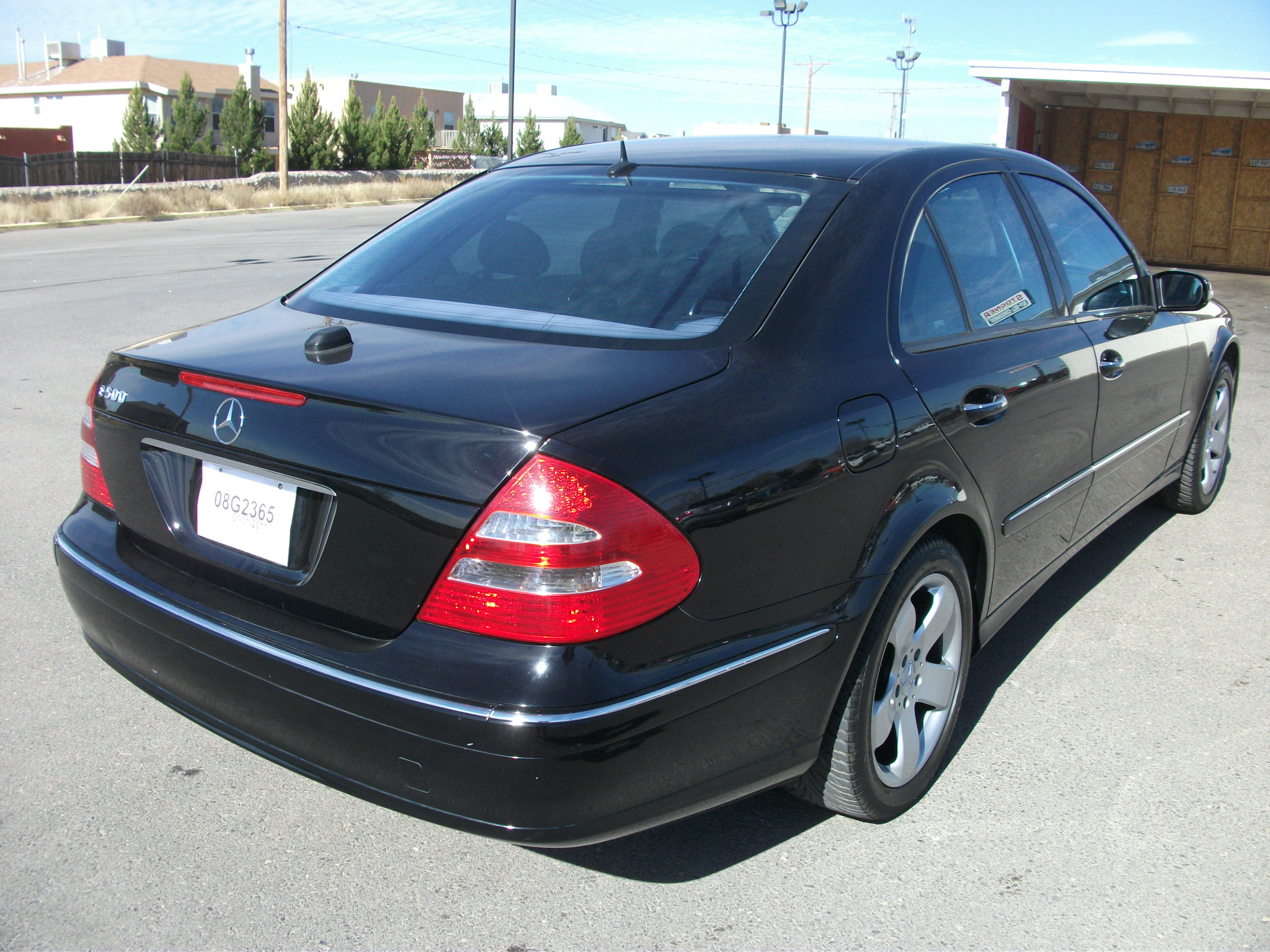 301 moved permanently for Mercedes benz 2004 e500