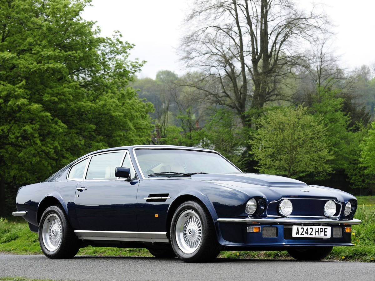 70's Sports Cars Icons - Aston Martin V8 Vantage, Ferrari Daytona and Iso Grifo Can Am
