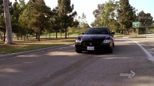 Maserati Quattroporte GT Charlie Crews Life