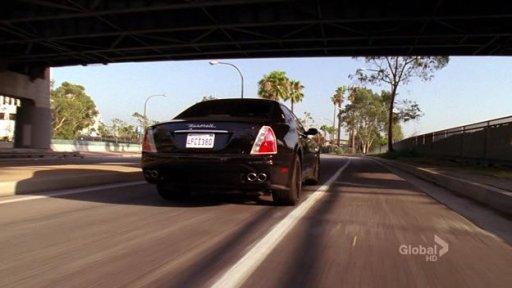 Maserati Quattroporte Charlie Crews Life