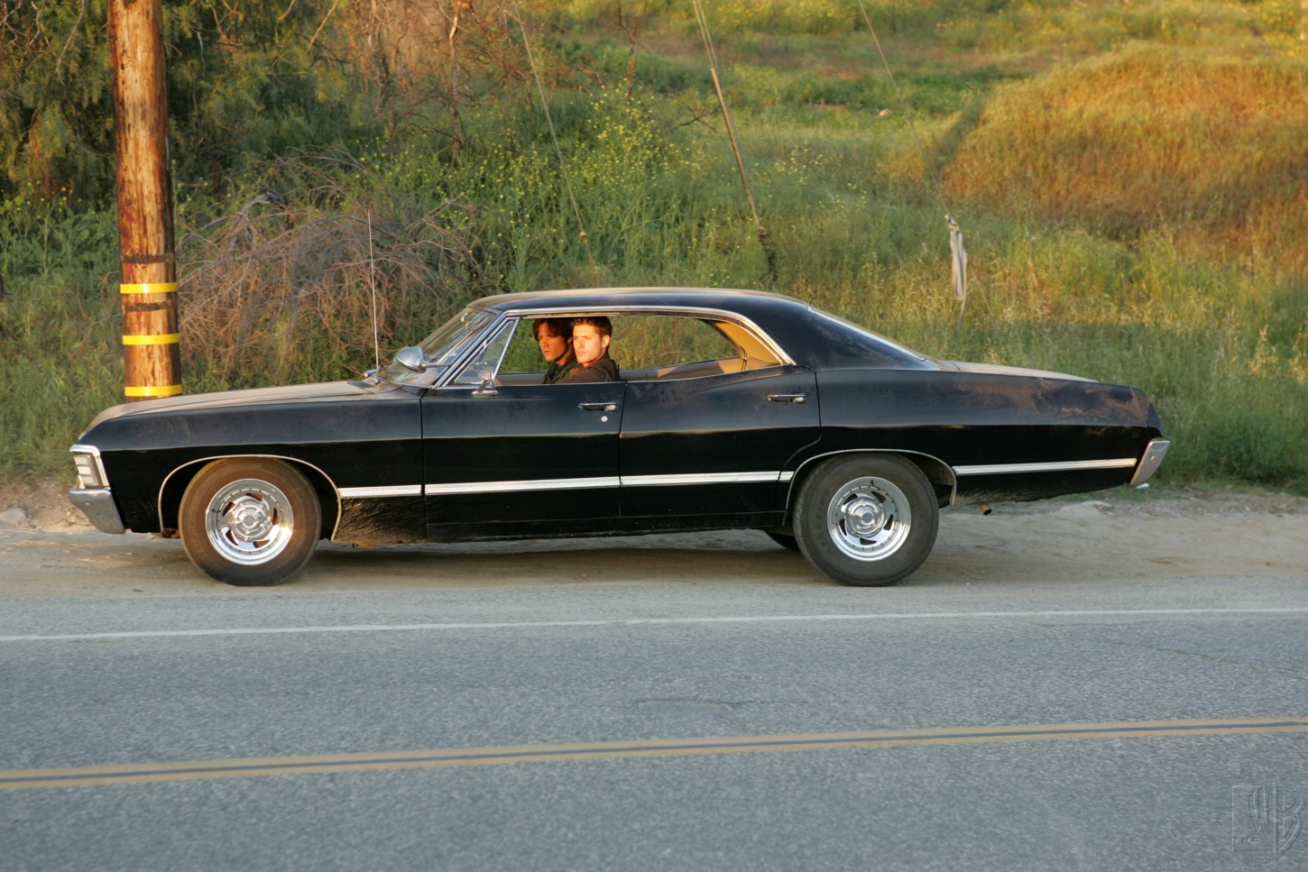 1967 chevrolet impala supernatural metallicar side screencap. Black Bedroom Furniture Sets. Home Design Ideas
