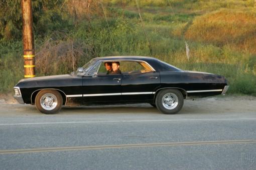 "1967 Chevrolet Impala Supernatural ""Metallicar"" (side/screencap)"