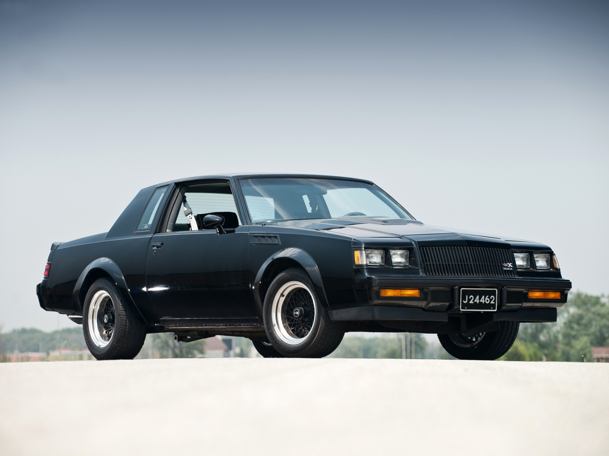 The 1987 GNX - Beauty, Power, Performance and one Hell of an Attitude