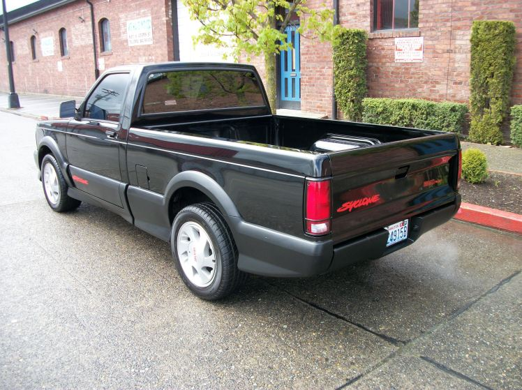 GMC Syclone (rear angle)