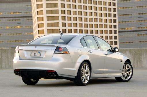 Pontiac GXP (rear angle)