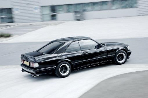 1989 Mercedes Benz 560 SEC AMG Wide Body (rear)