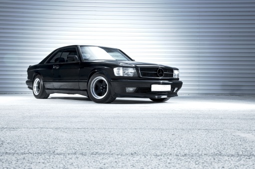 1989 Mercedes Benz 560 SEC AMG Wide Body