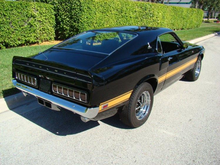 1969 Shelby GT500 (rear)