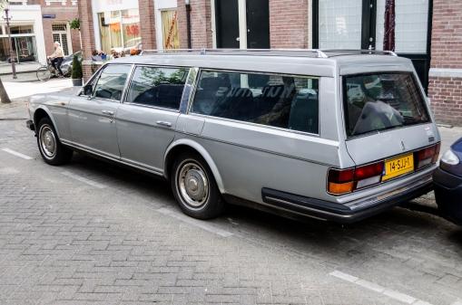 1984 Rolls Royce Silver Spirit Estate (rear)