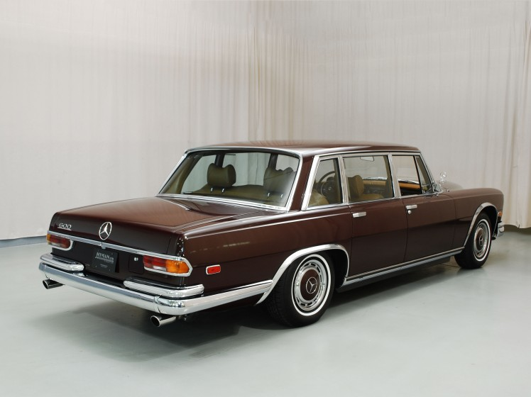 1970 Mercedes-Benz 600 SWB (rear)