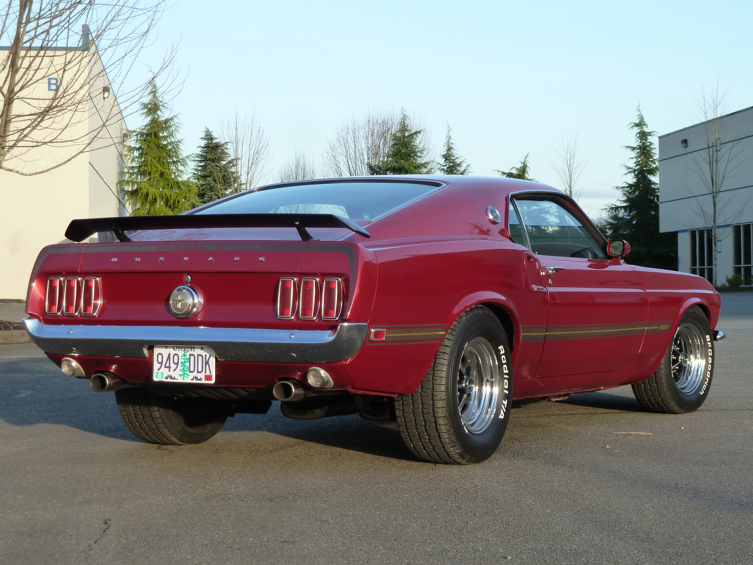 1969 Ford Mustang Mach 1 For Sale In Renton Washington  Apps