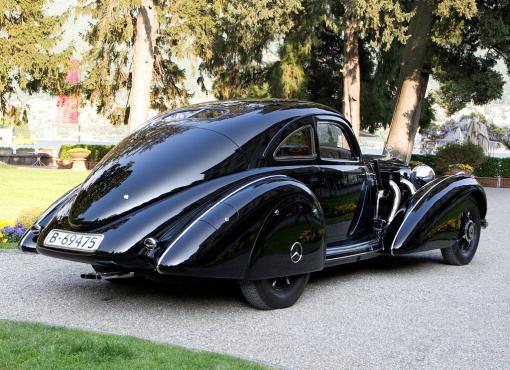 1938 Mercedes Benz 540K Autobahnkurier (rear)