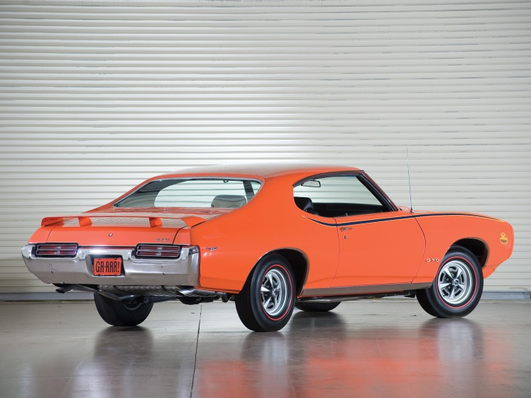 1969 Pontiac GTO The Judge (rear)