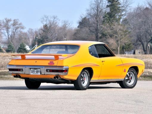 1970 Pontiac GTO The Judge (rear)