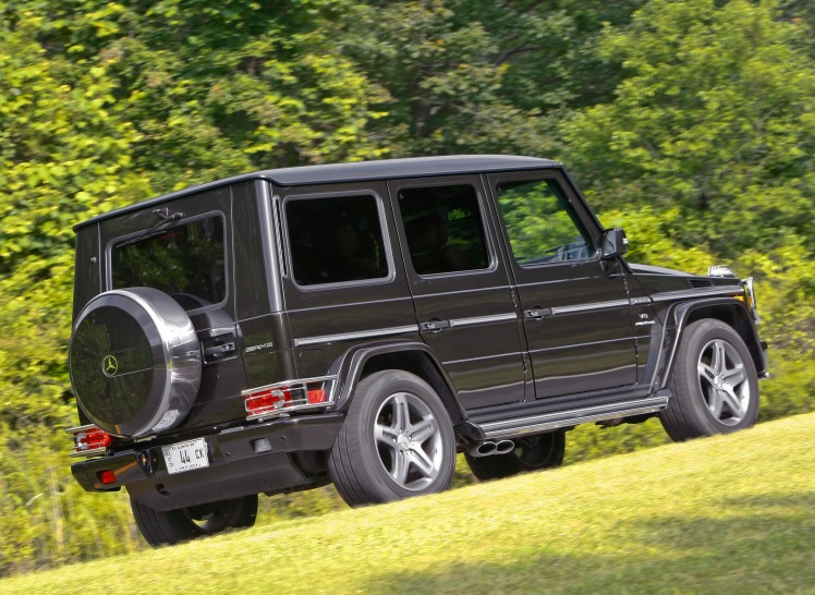 2010 Mercedes Benz G55 AMG (rear)