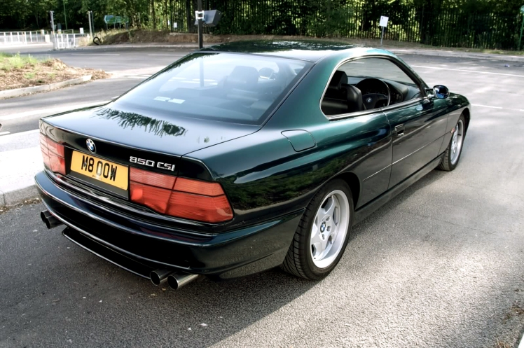 BMW 850CSi (rear)