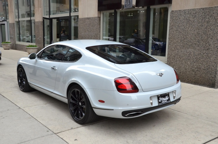 Bentley Continental Supersports (rear)