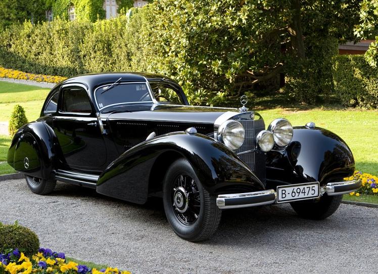 1937-1939 Mercedes Benz 540 K Autobahn Kurier 2