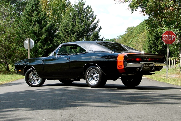 1969 Dodge Charger RT (rear)