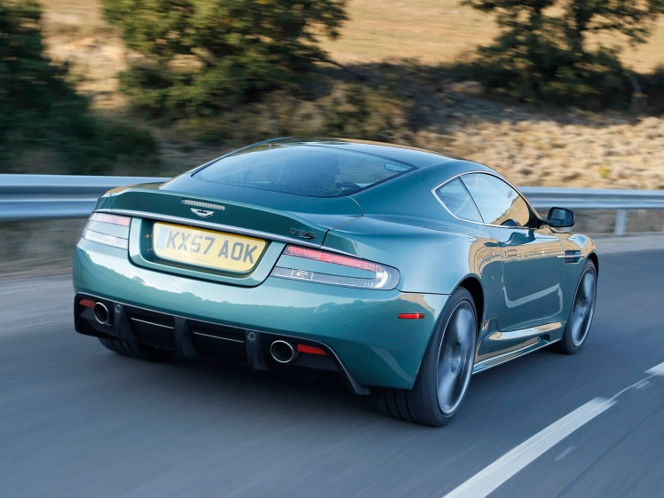 Aston Martin DBS (rear)
