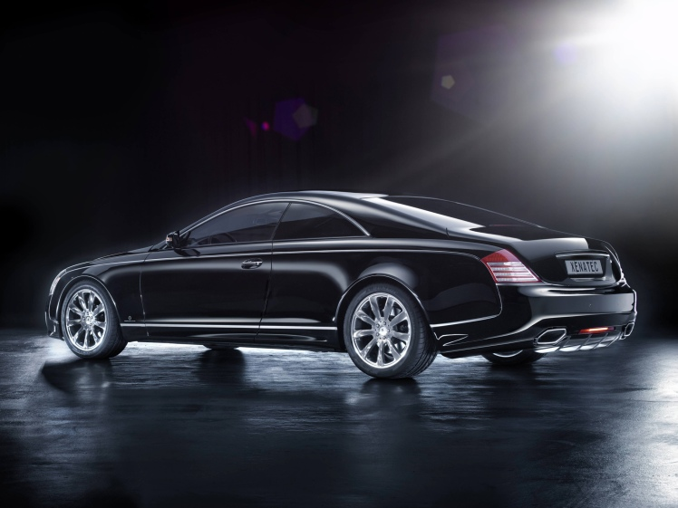 Maybach 57S coupe (rear)