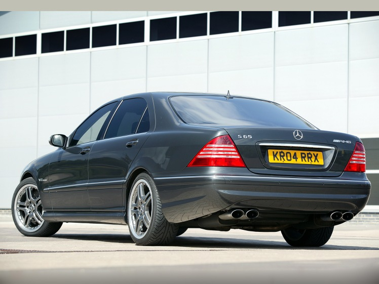 Mercedes-Benz S65 AMG (rear)