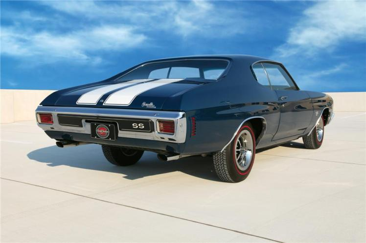 1970 Chevelle SS (rear)