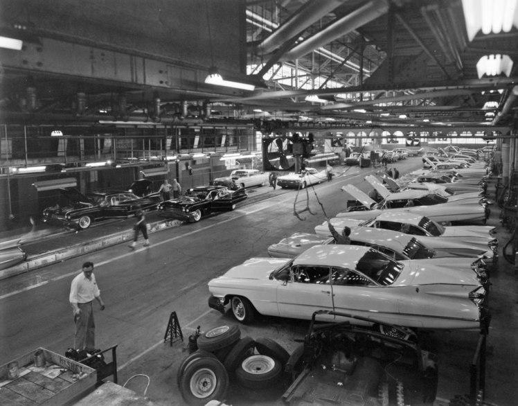 Cadillac factory 1959