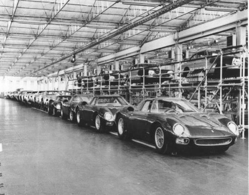Ferrari 250 Le Mans factory