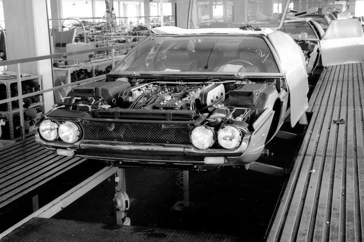 Lamborghini Espada Factory