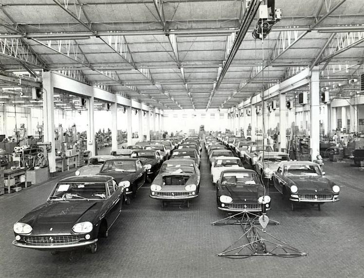 Ferrari 330 factory