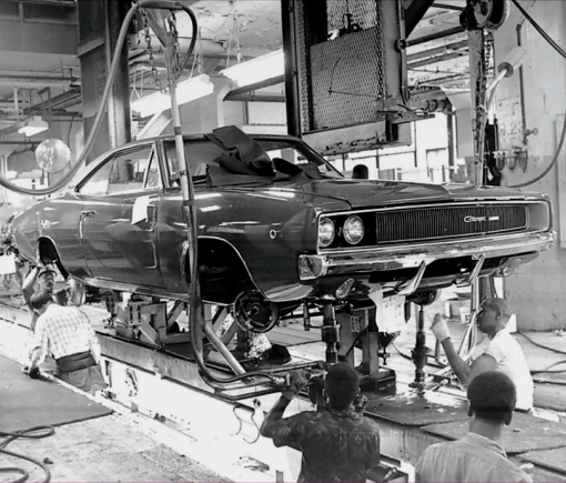 Charger Assembly line