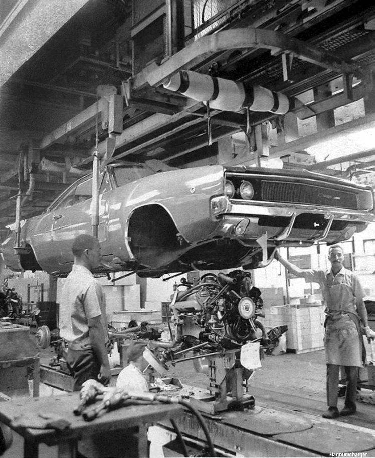 Dodge Charger assembly line
