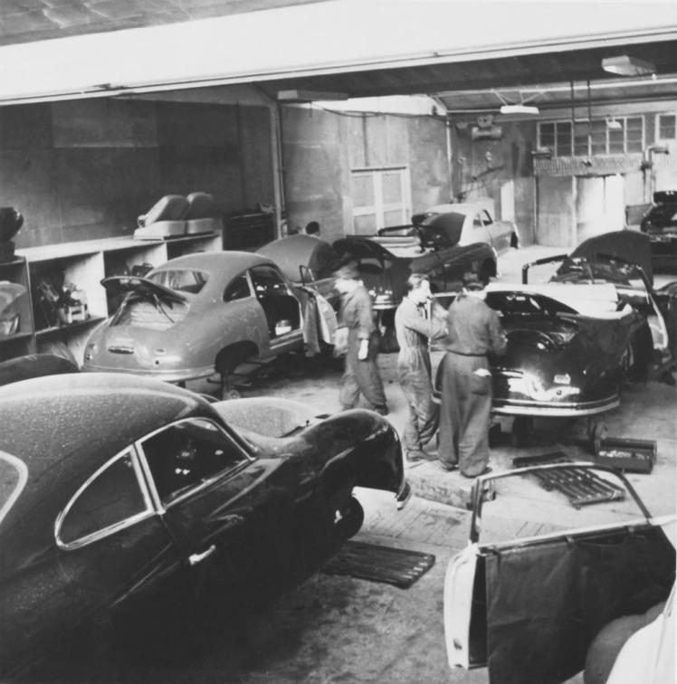 Porsche 356 factory