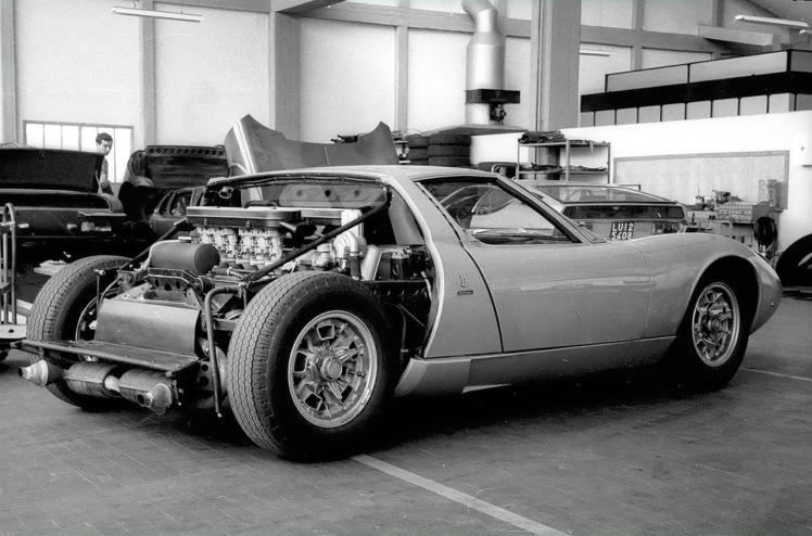 Lamborghini Miura factory