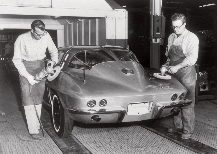 1963 Corvette Stingray factory