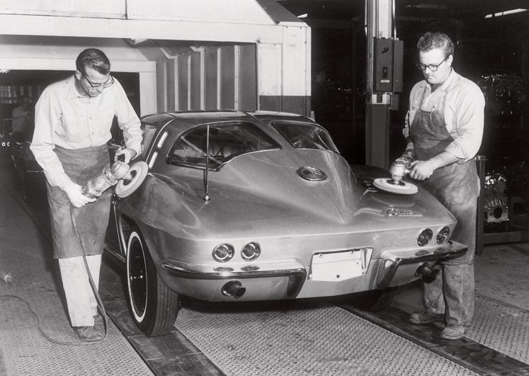 1963 Corvette Stingray factory