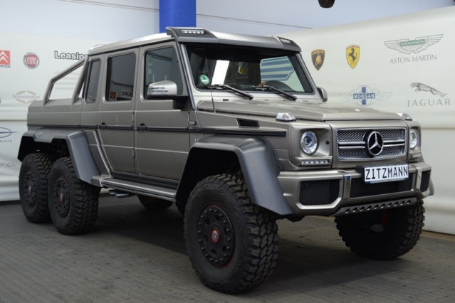 G63 amg 6x6 automotive views for Mercedes benz g63 6x6 for sale