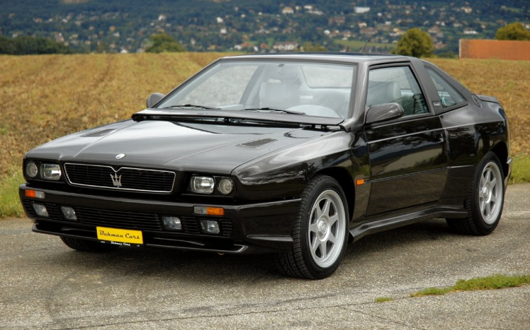 Maserati Shamal (black)