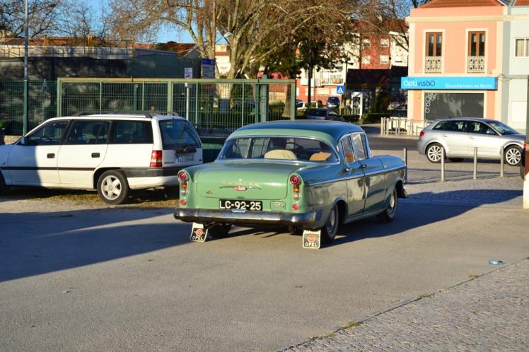 1958 Opel Kapitan (rear)