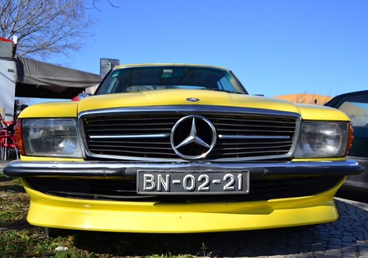 Mercedes Benz 350 SLC