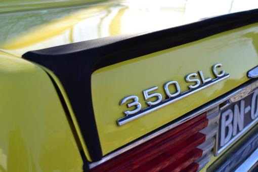 Mercedes Benz 350 SLC (badge)