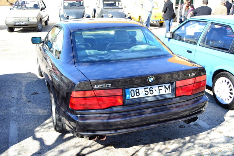 BMW 8 Series (rear)