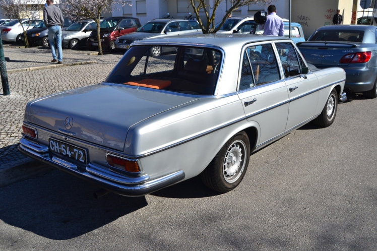 Mercedes Benz W108 Sedan (rear)