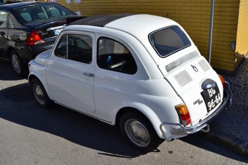Fiat 500 Lusso (rear)