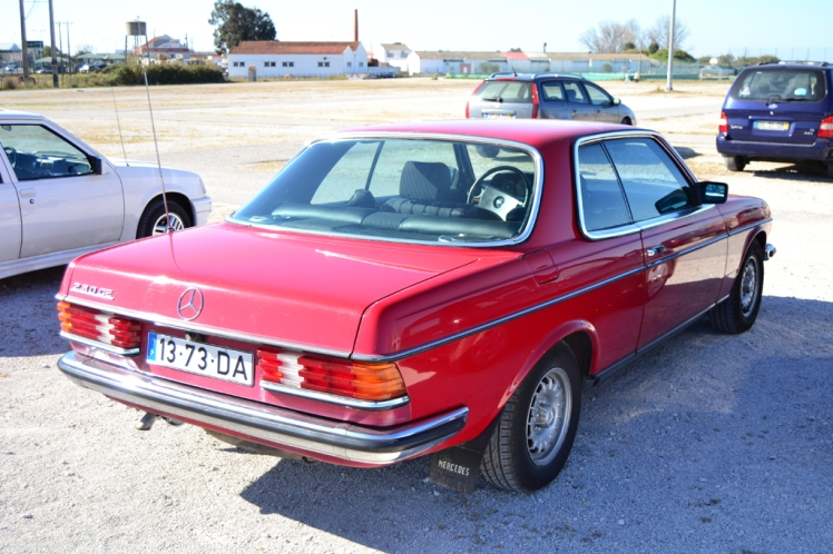 Mercedes Benz 230CE (rear)